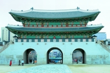 Gyeongbokgung Palace's Gwanghwamun